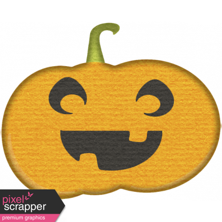No Tricks, Just Treats-Pumpkin Sticker