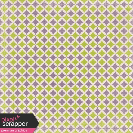 No Tricks, Just Treats-Purple And Green Retro Diamond Paper