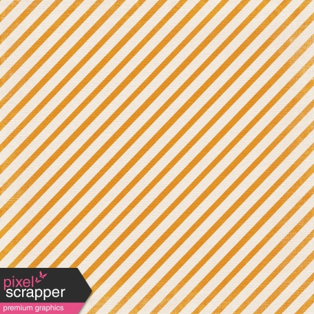 No Tricks, Just Treats-Orange Diagonal Striped Paper