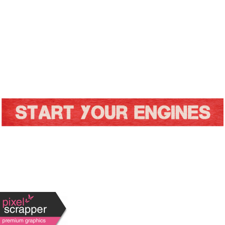 """Speed Zone Elements Kit - """"Start Your Engines"""" Label"""