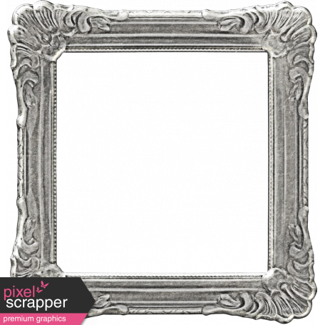 My Baptism - Silver Ornate Frame
