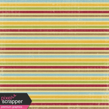 Turkey Time - Stripes Paper
