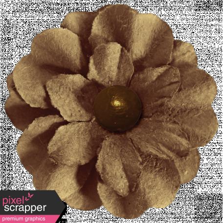 Turkey Time - Brown Flower
