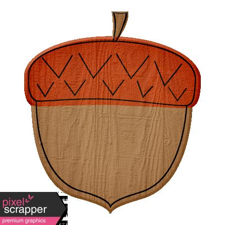 Turkey Time Elements Kit - Burnt Orange Acorn