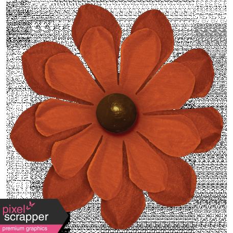 Turkey Time Elements Kit - Burnt Orange Flower