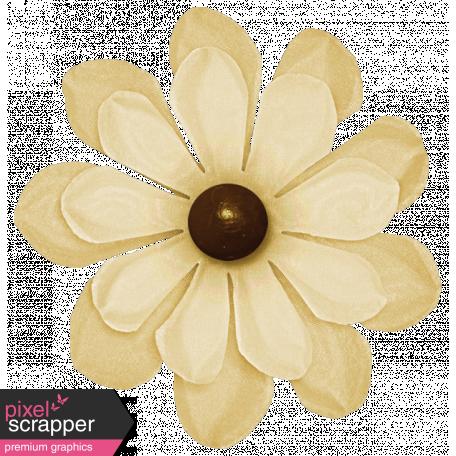 Turkey Time Elements Kit - Cream Flower