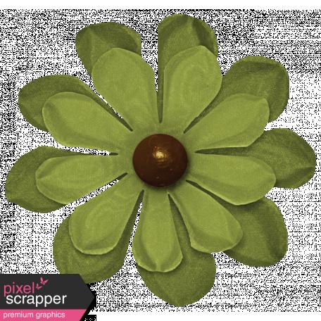 Turkey Time - Green Flower