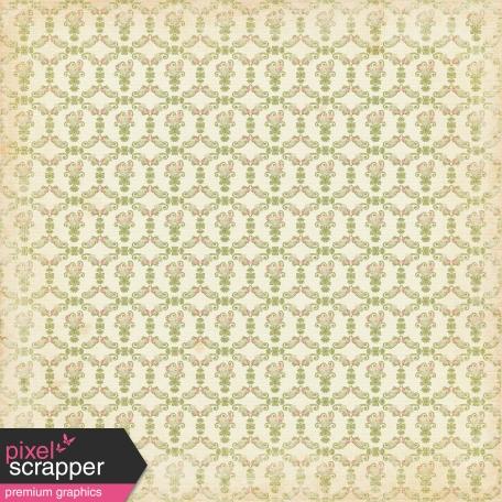 Vintage - November Blogtrain Floral Paper 02