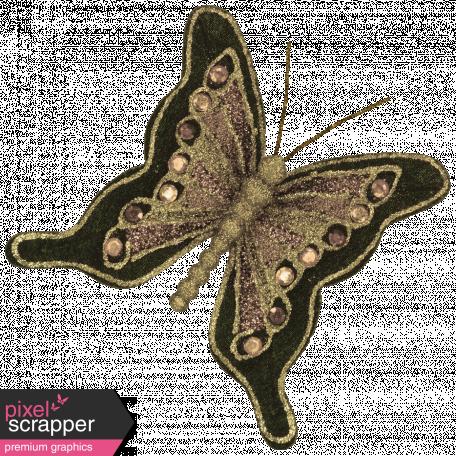Vintage - November Blogtrain Butterfly