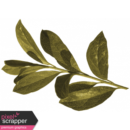 Vintage - November Blogtrain Leafy Branch