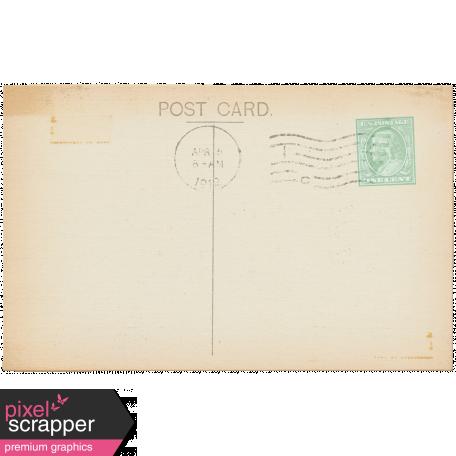 Vintage - November Blogtrain Postcard