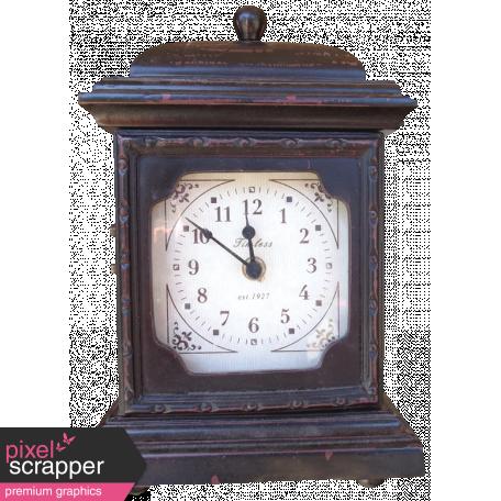 Vintage - November Blogtrain Clock