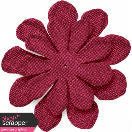 Thankful - Pinkish Red Flower