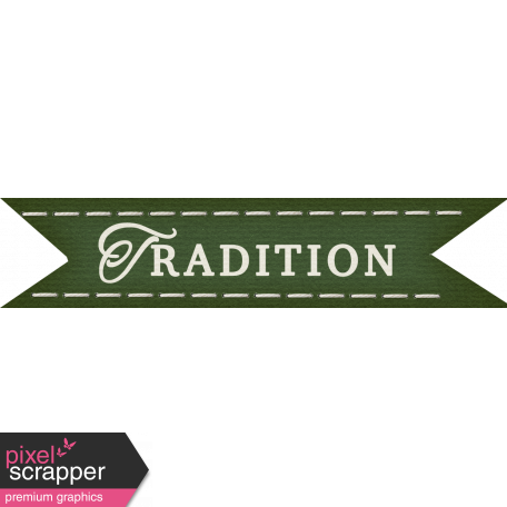 Thankful - Tradition Tag