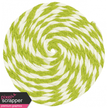 Lil Monster - Green Pinwheel String