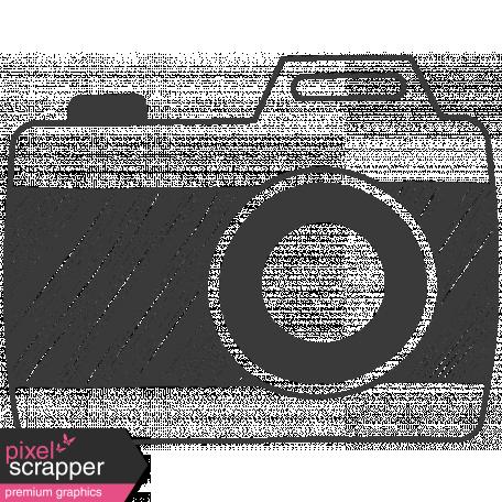 Camera Doodles Set - Camera #05 Illustration
