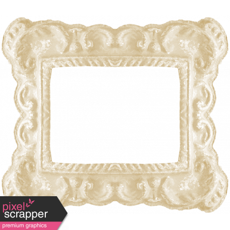 I Love You Mom - White Ornate Frame