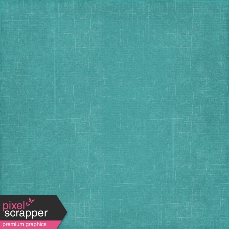 At The Beach - Teal Solid Paper