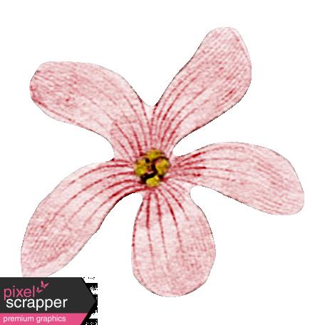 Meet Me In Paris - Vintage Flower Pink