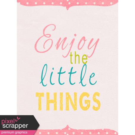 Summer Daydreams - Journal Card - Little Things