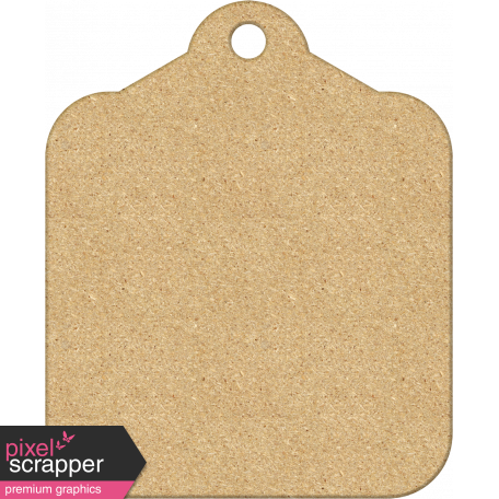 Dad - Chipboard Tag