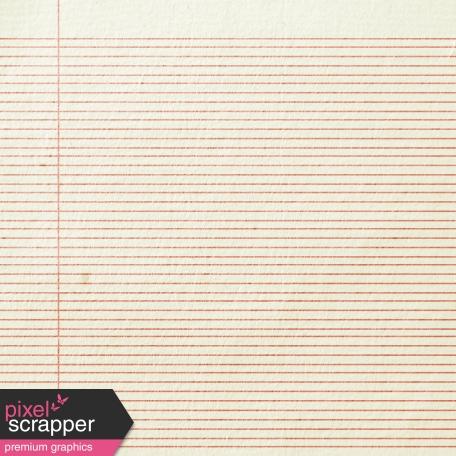 Notebook 02 Paper - Footsteps Pink