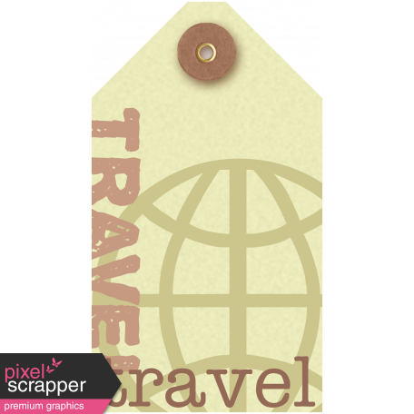 Travel Tag - Footsteps