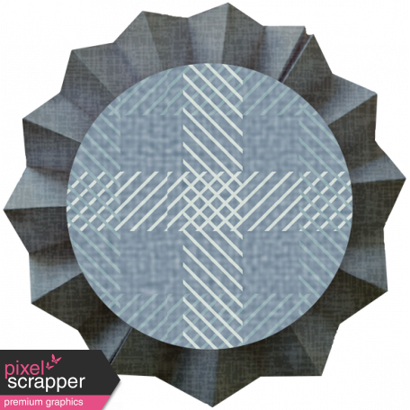 Paper Flower 20 - Blue