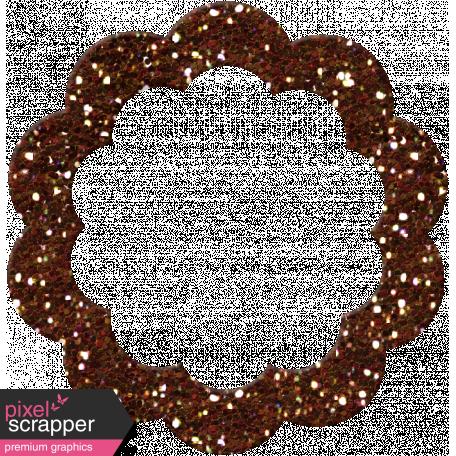 P&G Glitter Bit - Brown