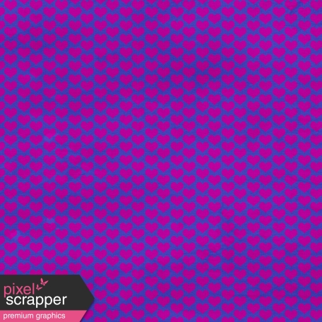 Hearts 11 Paper - Blue & Purple