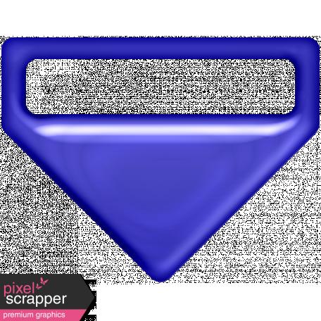 P&G Plastic Clip - Blue
