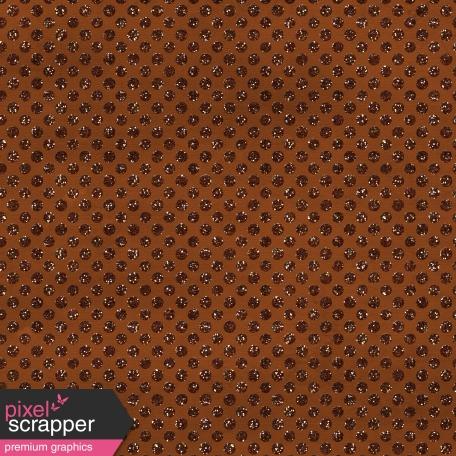 Polka Dots 23 Paper - Brown Glitter