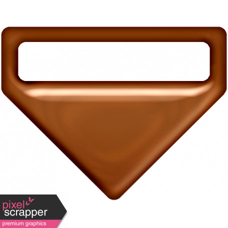 P&G Plastic Clip - Brown