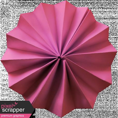 Paper Flower 20 - Pink