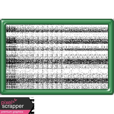Dark Green Frame 4x6