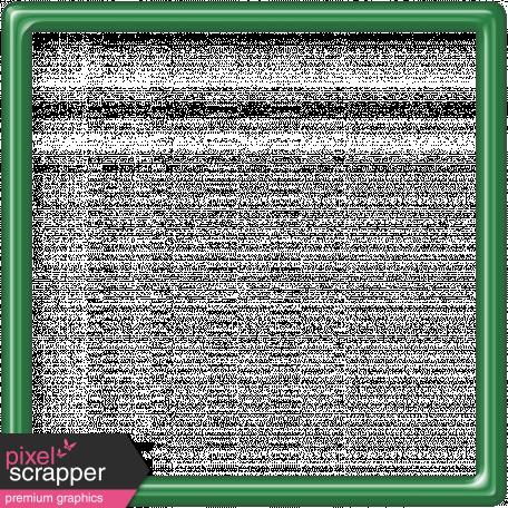Dark Green Frame 5x5