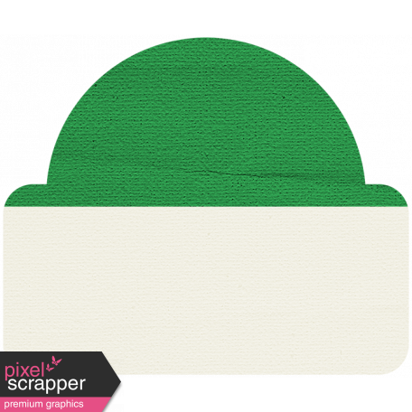 Tab 20 - Dark Green & White