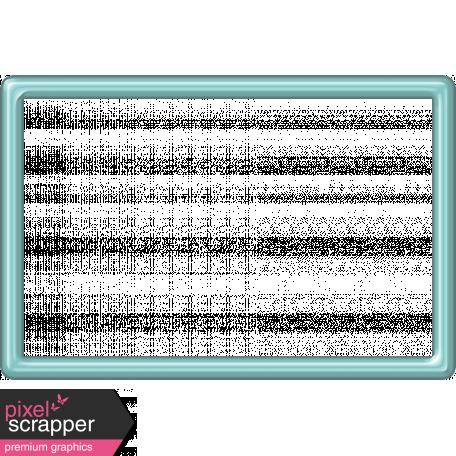 Aqua Plastic Frame - 4x6