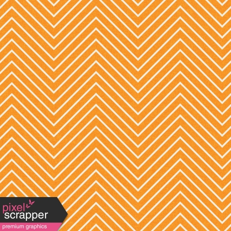Chevron 03 Paper - Orange & White