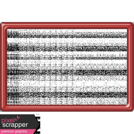 Red Plastic Frame 4x6