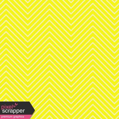 Chevron 03 Paper - Yellow & White