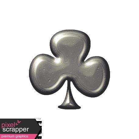 Silver Clover Shape