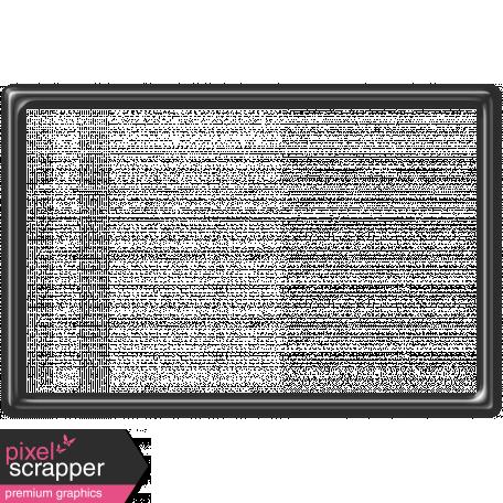 Black Plastic Frame 4x6