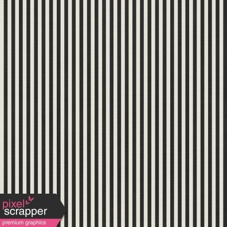 Stripes 54 Paper - Black & White