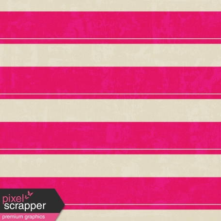 Stripes 62 Paper - White & Pink