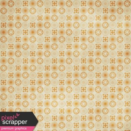 Circles 09 Paper - Orange