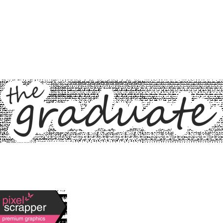 The Graduate Word Art