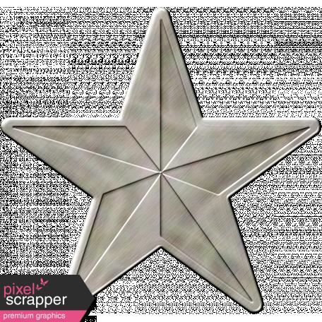 Metal Military Star