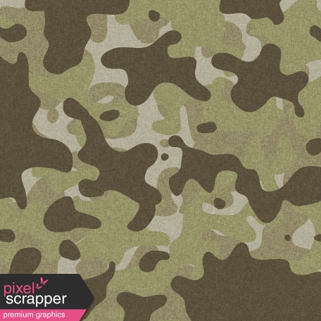 Army Camo Paper 01 - Green
