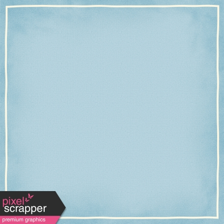 Blue Paper with Border